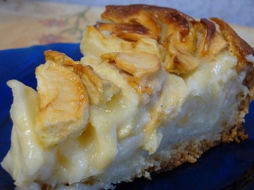 яблочный пирог рецепт со сметаной