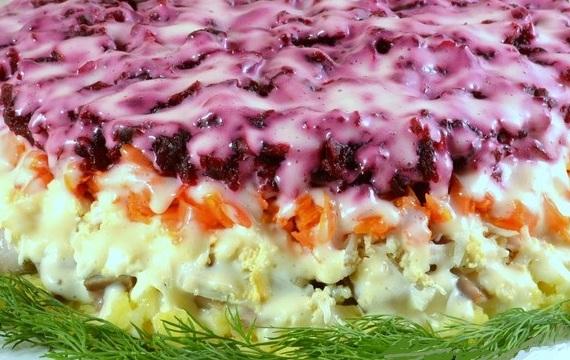 Диетические куриные салаты рецепты 71