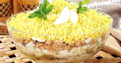 салат мимоза с рецепт с фото пошагово