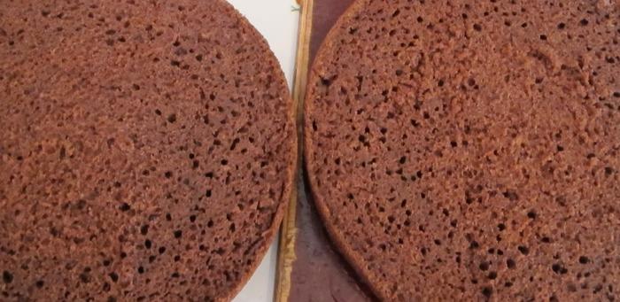 Шоколадный бисквит без яиц рецепт 5