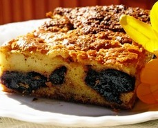 Сладкий пирог с черносливом