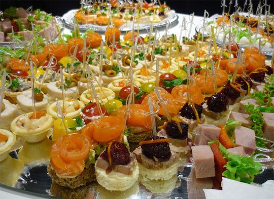новогодний стол 2015 года рецепты тарталетки бутерброды воланы