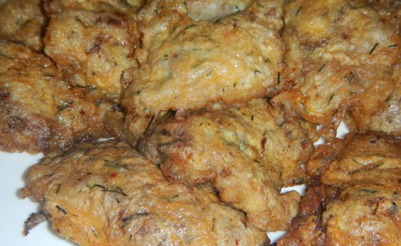 Отбивные из куриной печени