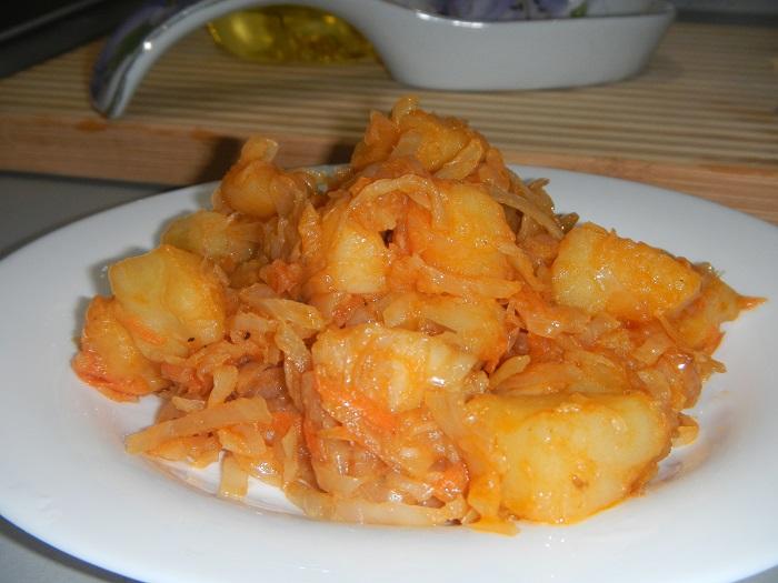 овощное рагу в мультиварке рецепт с картошкой и капустой и