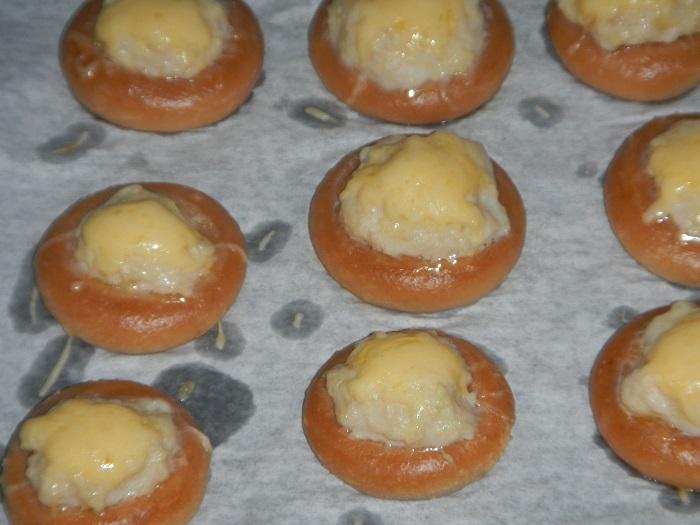Бублики с фаршем в духовке или фаршированные сушки