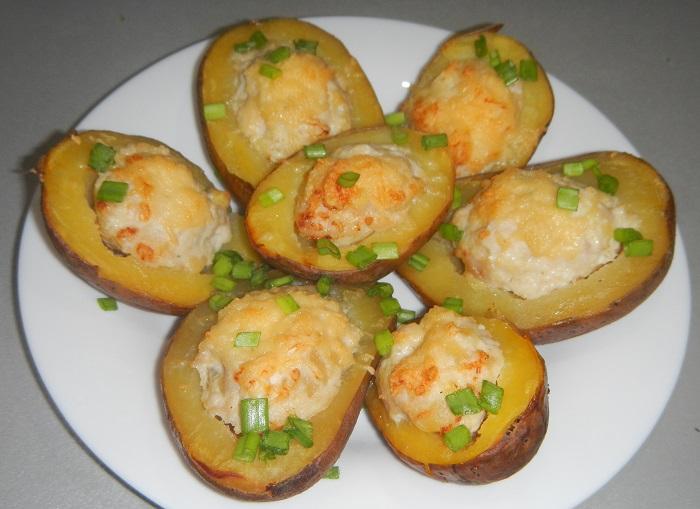 рецепт картошки с фасолью в духовке