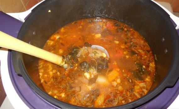 рецепты супа с замороженным щавелем