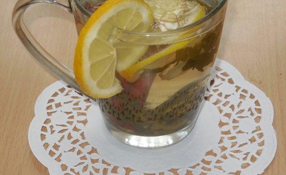 Зеленый чай с имбирем и лимоном для похудения