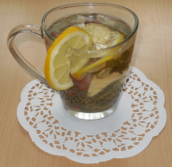 как заварить чай с молоком для похудения