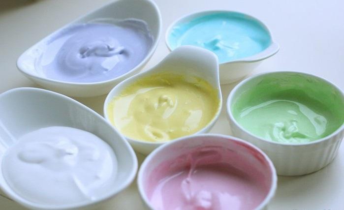 Цветная глазурь для кулича