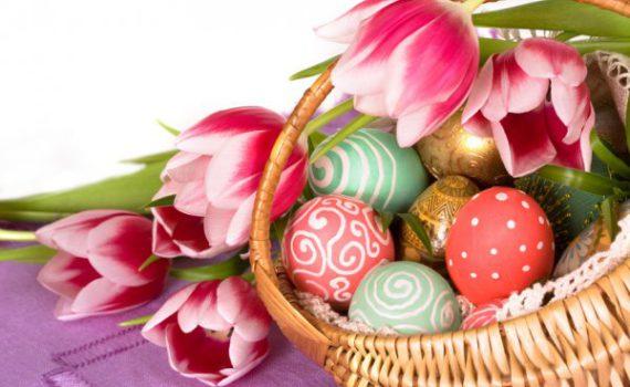 как украсить яйца на Пасху