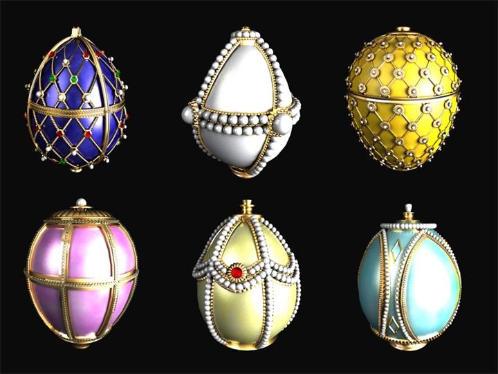 Ювелирные яйца Фаберже