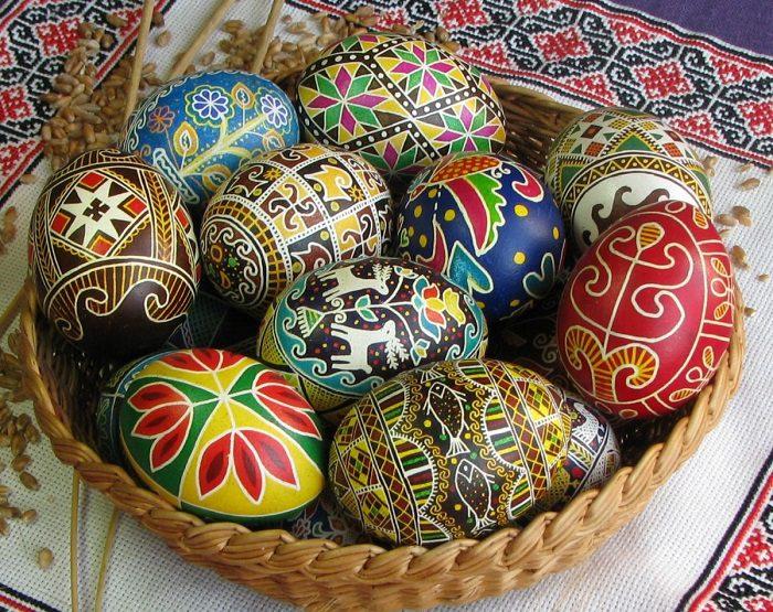 Пасхальные яйца - лучший подарок на Пасху своими руками