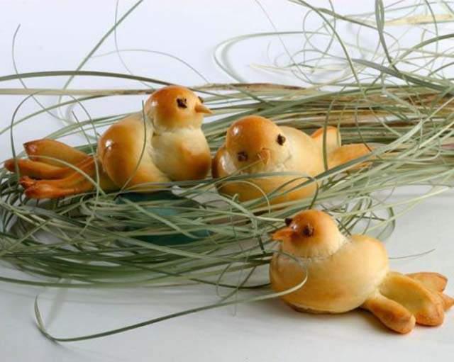 Пташки на Пасху