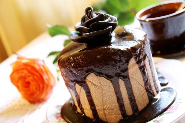 Шоколадная творожная пасха со сливками