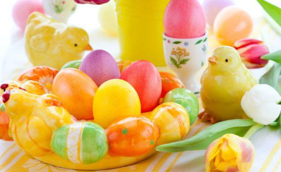 Крашеные яйца или крашенки