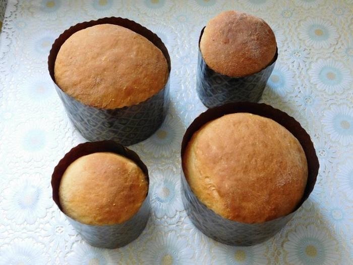 Простой и вкусный заварной кулич в хлебопечке