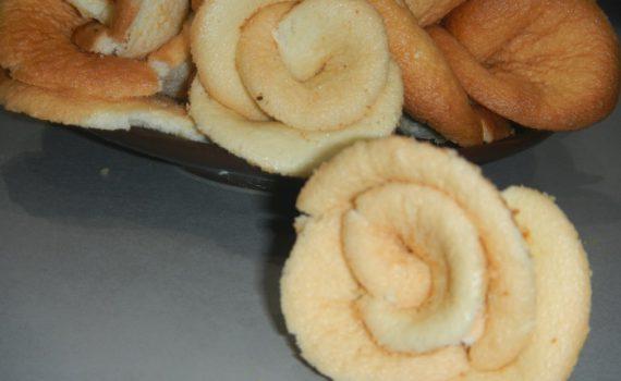 Домашнее бисквитное печень Розы