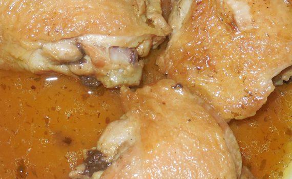 Куриные бедра в мультиварке в кисло-сладком соусе