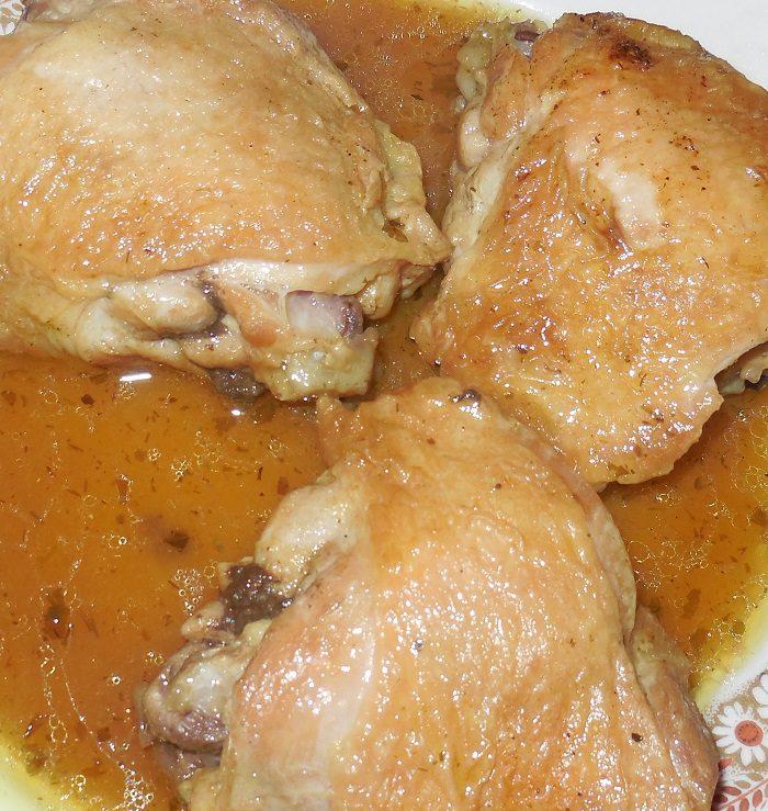 Что приготовить из бедра курицы