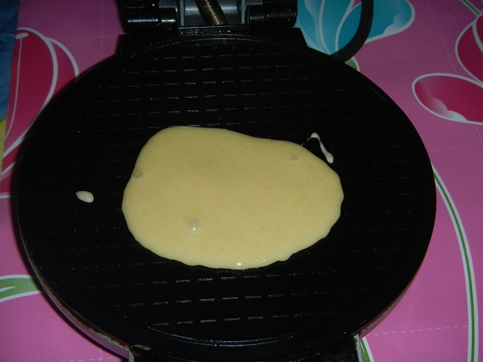рецепт приготовления вафлей в вафельнице