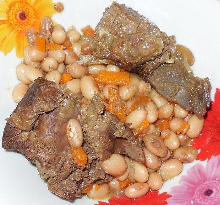 Горячий свекольник с мясом рецепт с фото
