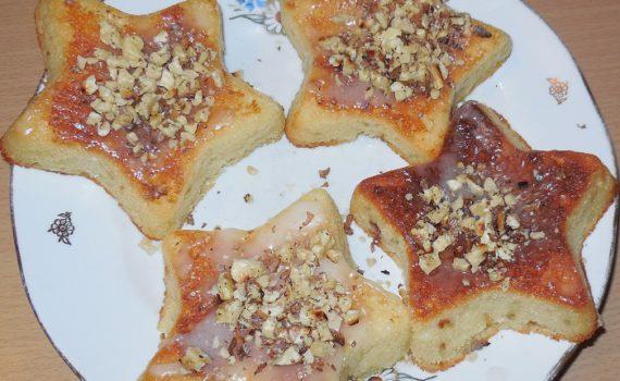 Быстрые и вкусные кексы в формочках, на кефире и соде