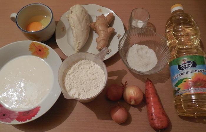 Заливные пироги рецепт пошагово в духовке 54