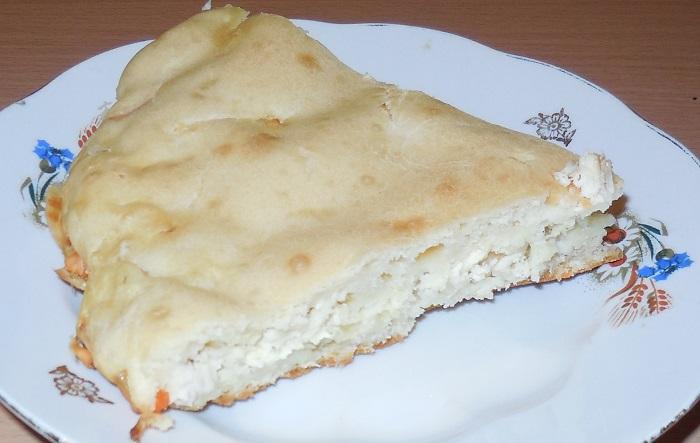 Заливной пирог на сковороде рецепт с фото