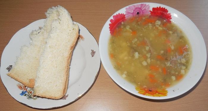 Как сделать гороховый суп без мяса вкусным
