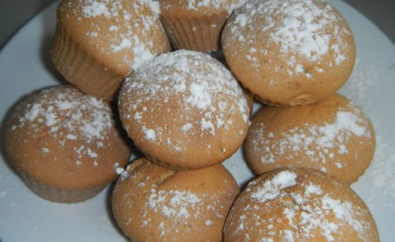 Кексы рецепты простые на кефире и маргарине