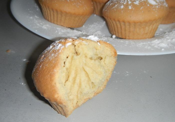 Рецепт кексов на маргарине в формочках