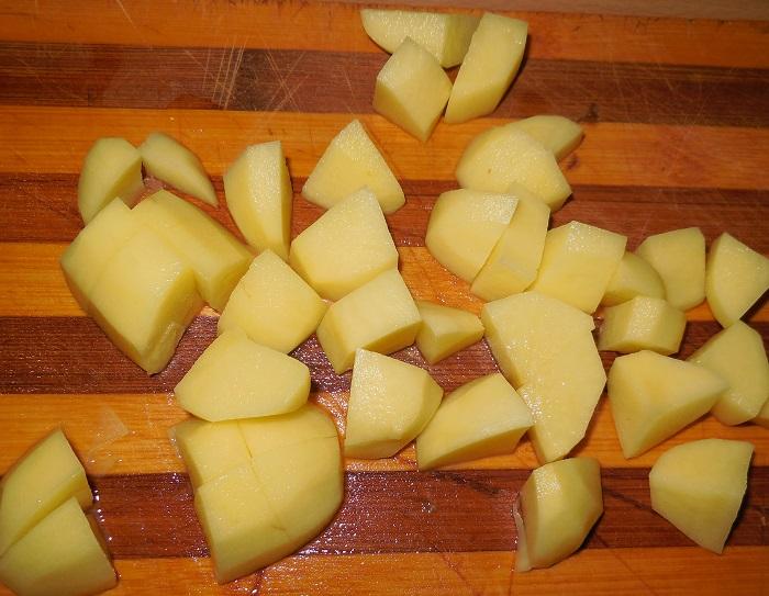 Овощное рагу с кабачками и картошкой и капустой рецепт с фото в мультиварке
