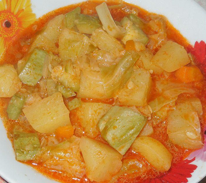 Овощное рагу с кабачками на зиму рецепт с фото