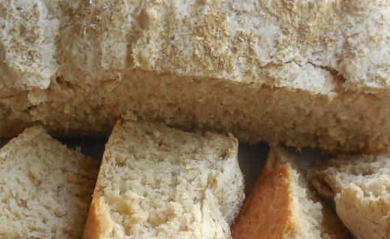 Вкусный и полезный пшеничный хлеб с отрубями грубого помола