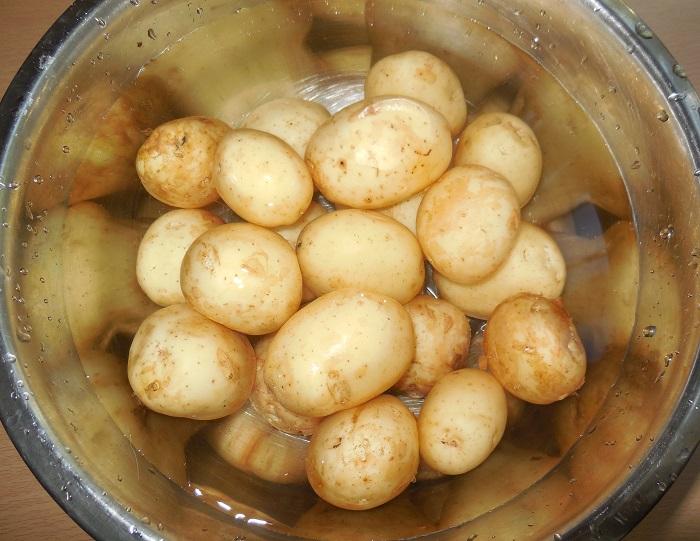 вкусная молодая картошка в духовке рецепт