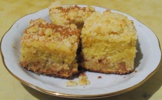 фото рецепт простого яблочного пирога в духовке с фото