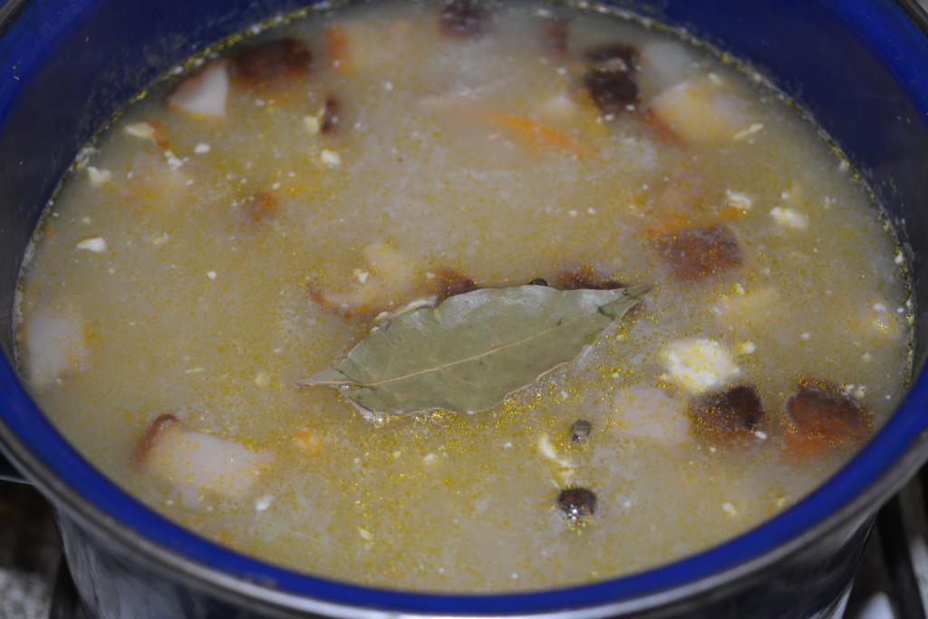 как правильно приготовить грибной суп из свежих рецепт