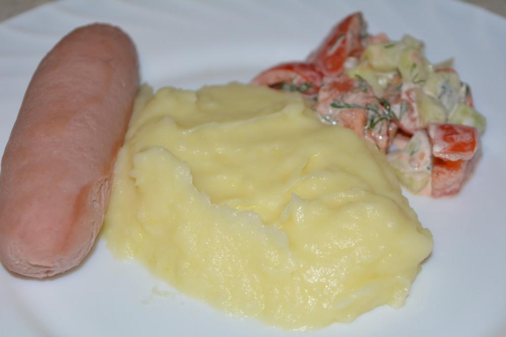 Картофельное пюре: рецепт с