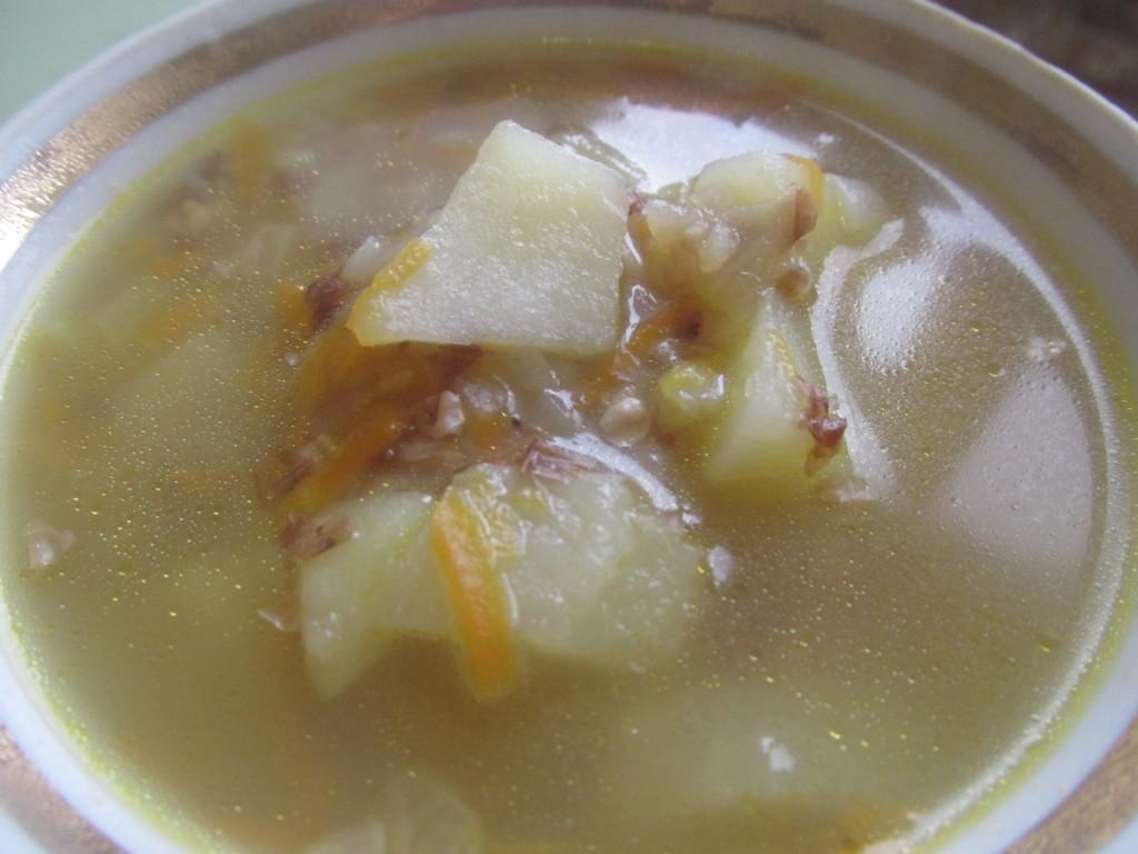 Как сделать гречневый суп