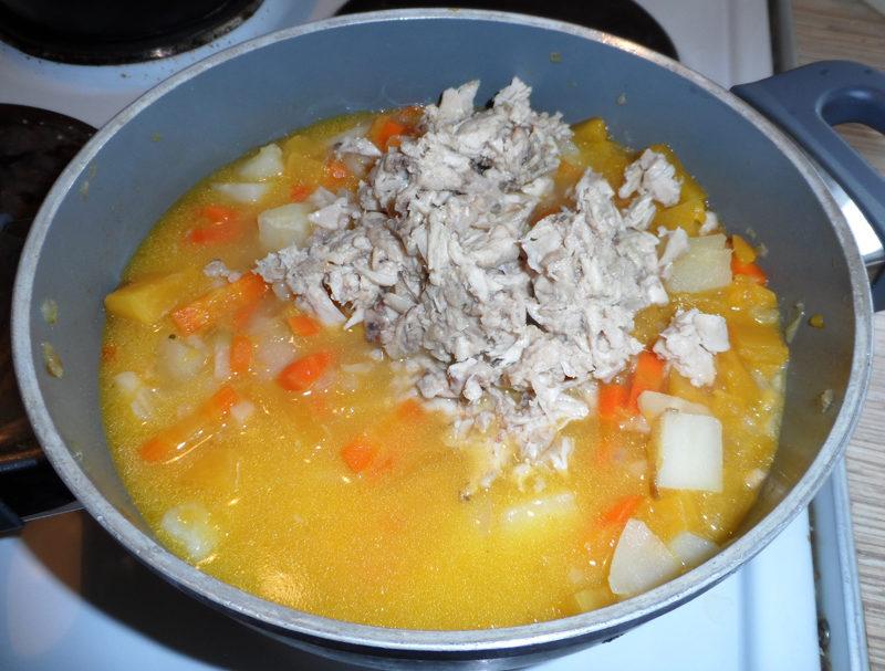 Суп пюре из зеленой чечевицы рецепт