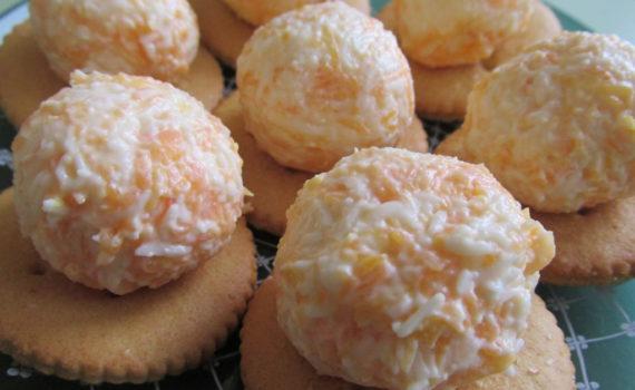 Оригинальная сырная закуска на крекерах