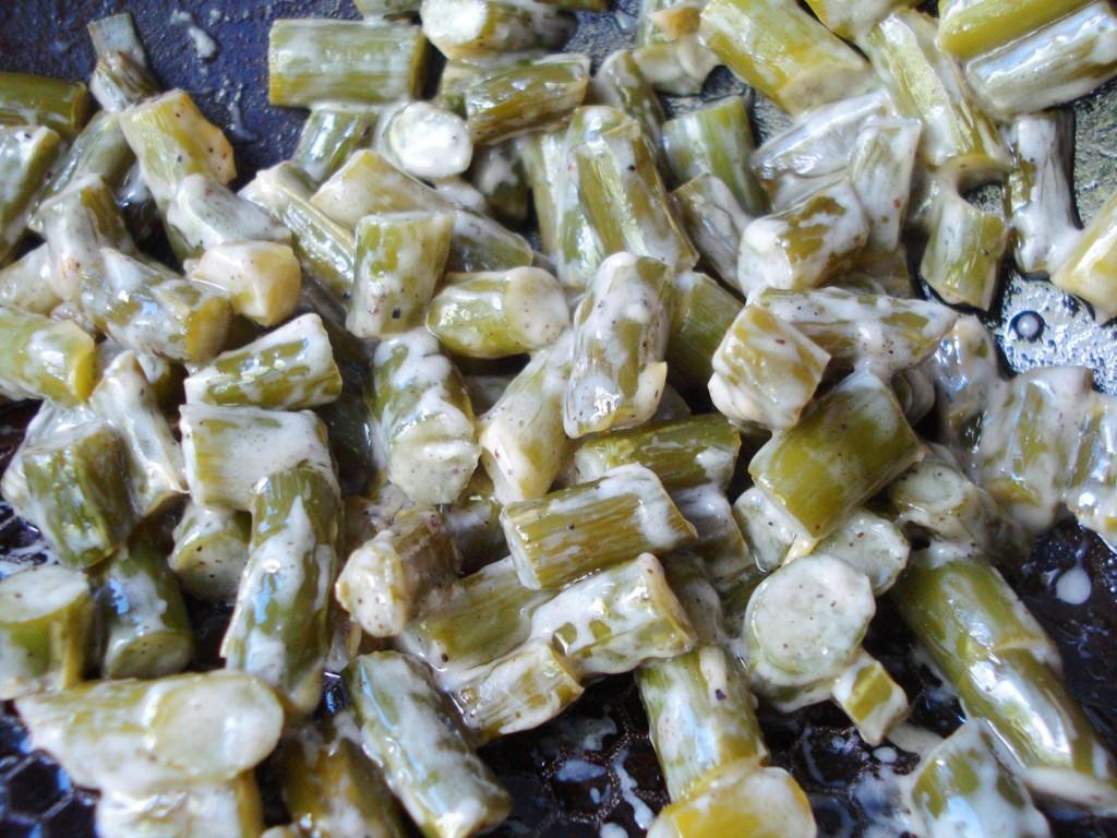 Салат из чесночных стрелок