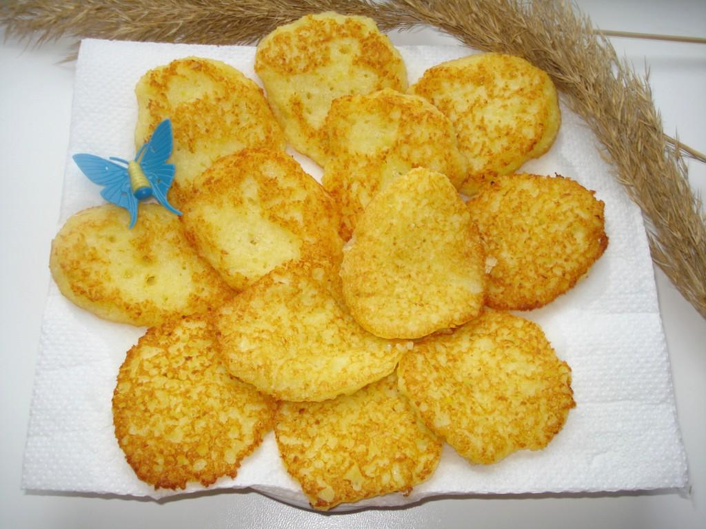 Деруны или картофельные оладьи