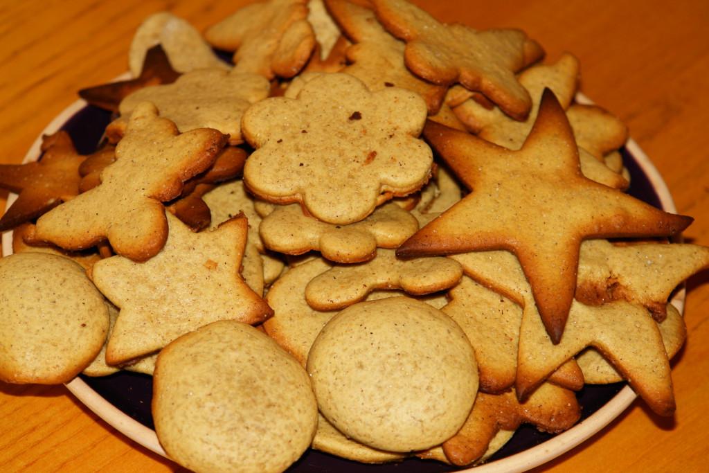 Классическое печенье с медом, имбирем и корицей