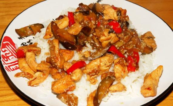 Курица по-китайски: с овощами и с соевым соусом