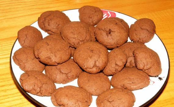 Вкусное домашнее шоколадное печенье на скорую руку