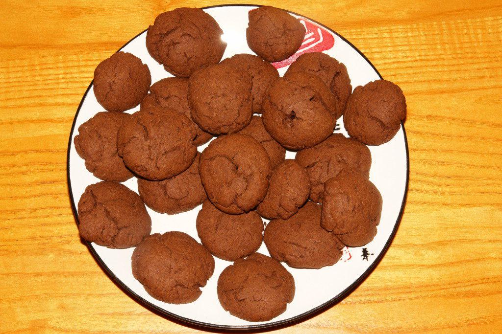 Печенье с какао рецепт с фото пошагово