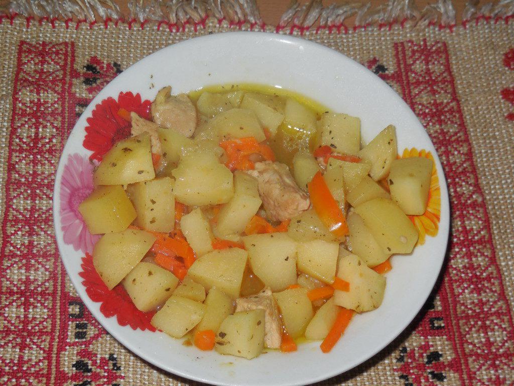 жаркое в горшочках с мясом пошаговый рецепт с фото