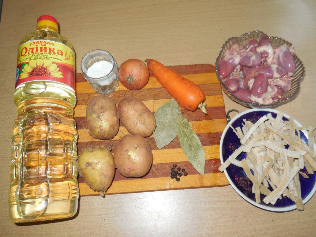 как варить суп с домашней лапшой пошаговый рецепт
